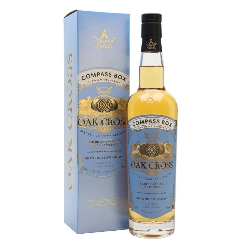 Compass Box Oak Cross Blended Malt Whisky NV, Scotland, United Kingdom 70cl