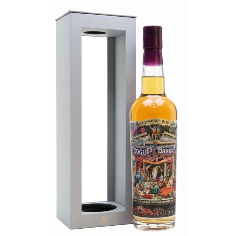 Compass Box Rogues Banquet Blended Scotch Whisky