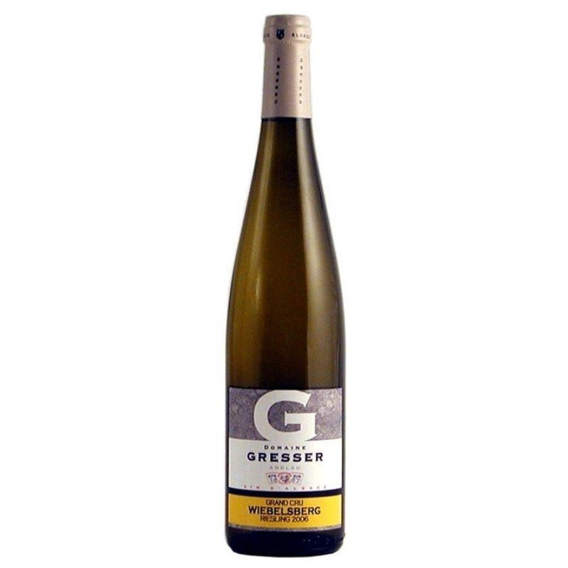 Domaine Remy Gresser Wiebelsberg Grand Cru Riesling Selection Grains Nobles Alsace France