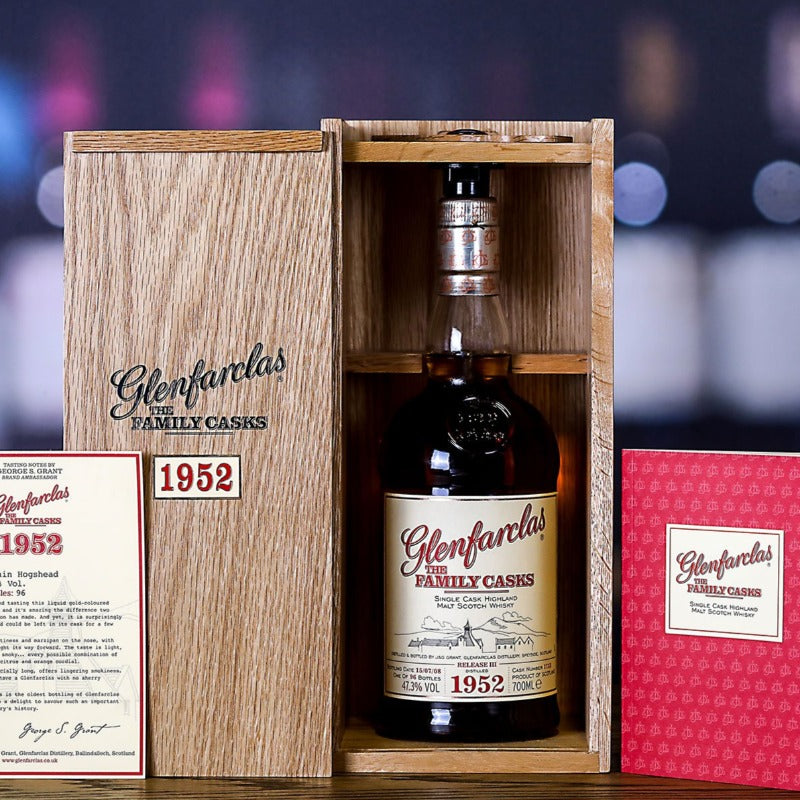 Glenfarclas 1952 Release 3 Speyside Single Malt Scotch Whisy, Scotland