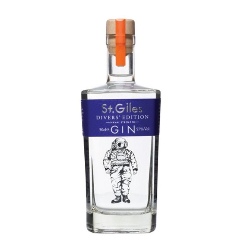 St Giles 'Divers' Edition' Naval Strength Gin 50cl