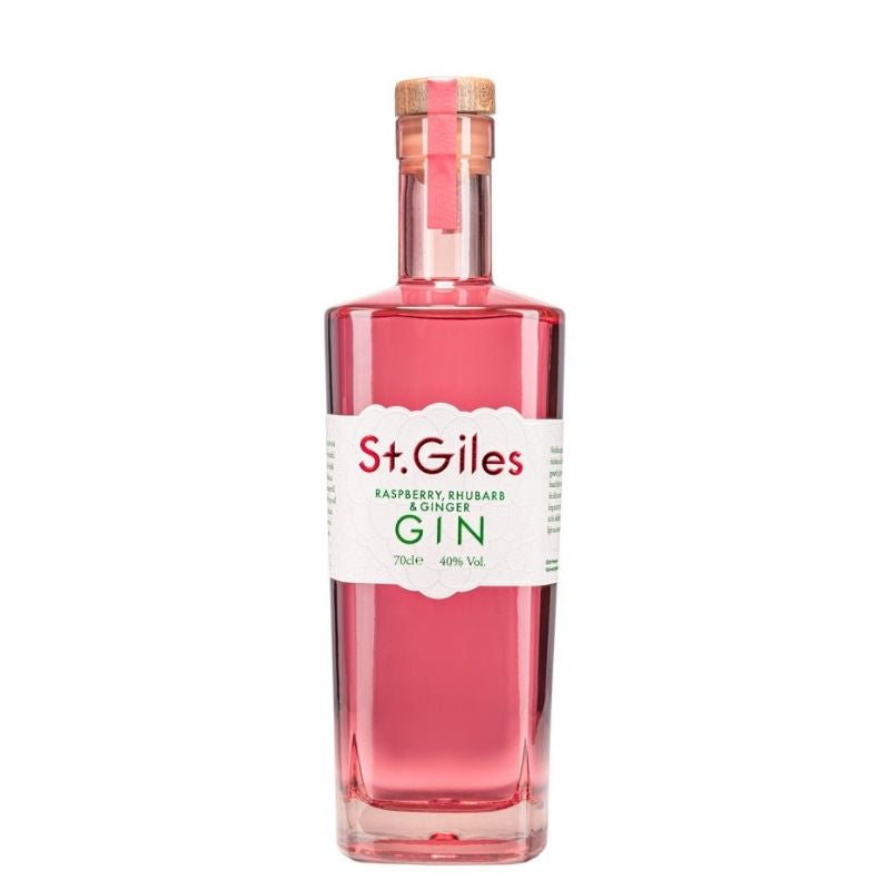St Giles Raspberry, Rhubarb and Ginger Gin 70cl