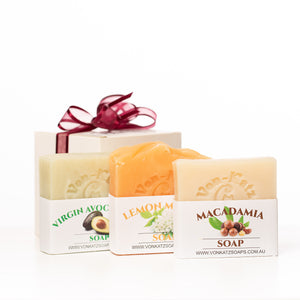 Australia Pack (3 Pack of Soaps) Vegan friendly