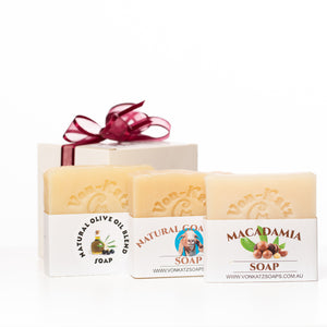 Gentle Care Pack 1 (3 Pack of Soaps) NOT Vegan friendly!!
