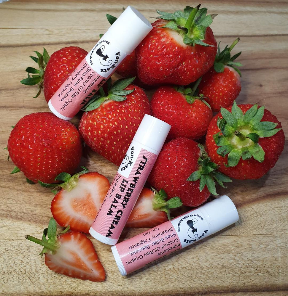 Load image into Gallery viewer, Strawberry Lip Balm