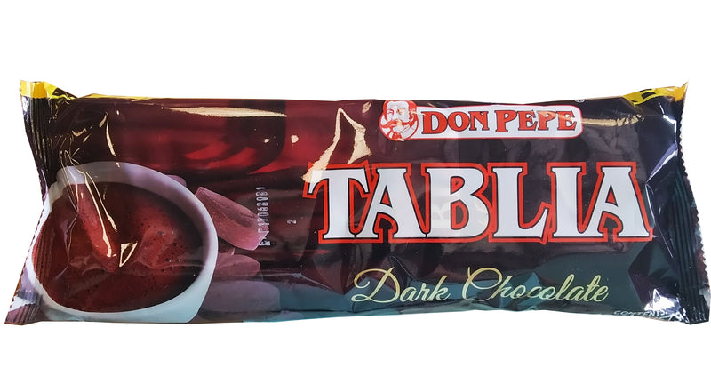 DON PEPE TABLIA DARK CHOCLATE 27G 10'S