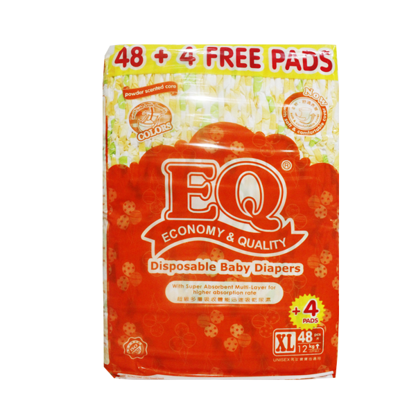 EQ COLORS JUMBO PACK XL 48+4