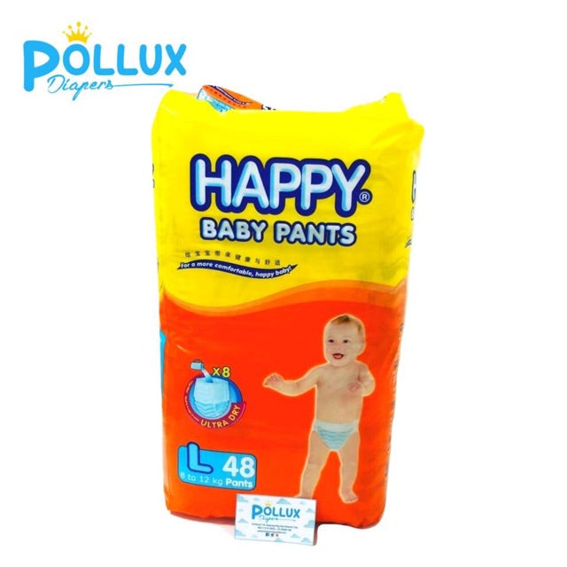 HAPPY BABY PANTS LARGE 48'S
