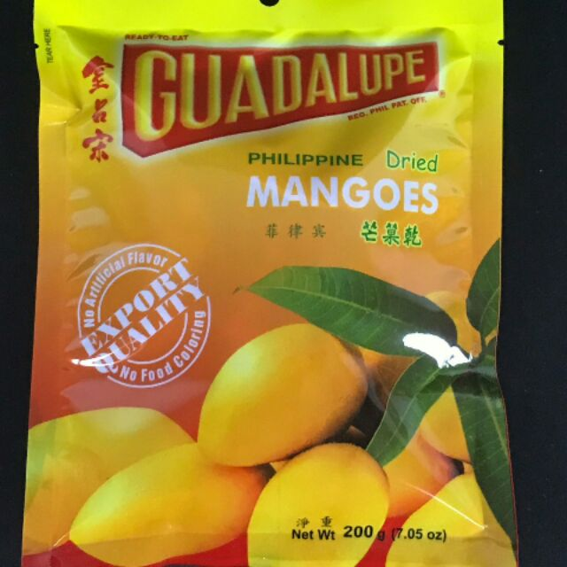 GUADALUPE DRIED MANGO 200G