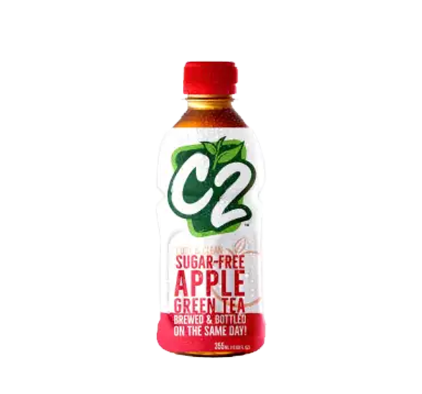 C2 APPLE SUGAR FREE 355ML