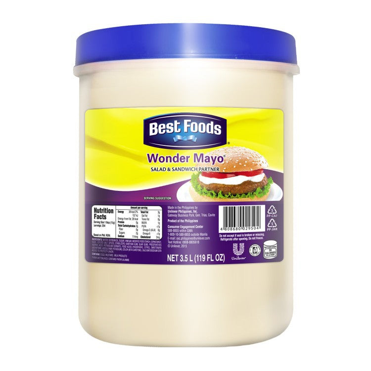 BF REGULAR MYNSE WONDER MAYO 3.5L