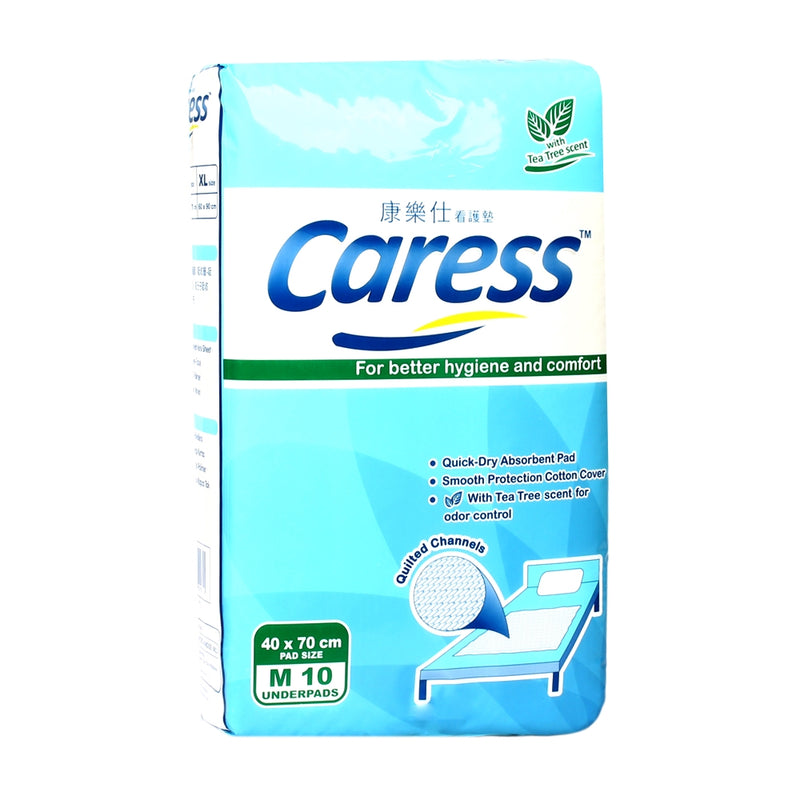 CARESS UNDERPADS 10'S