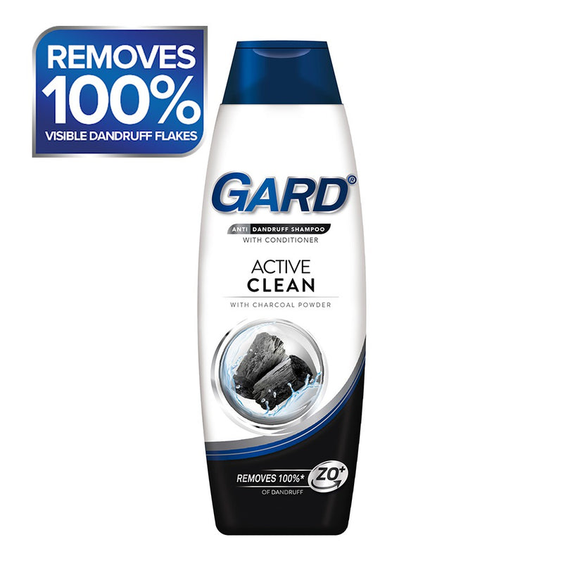 GARD SHAMPOO CHARCOAL 180ML (BOTTLE)