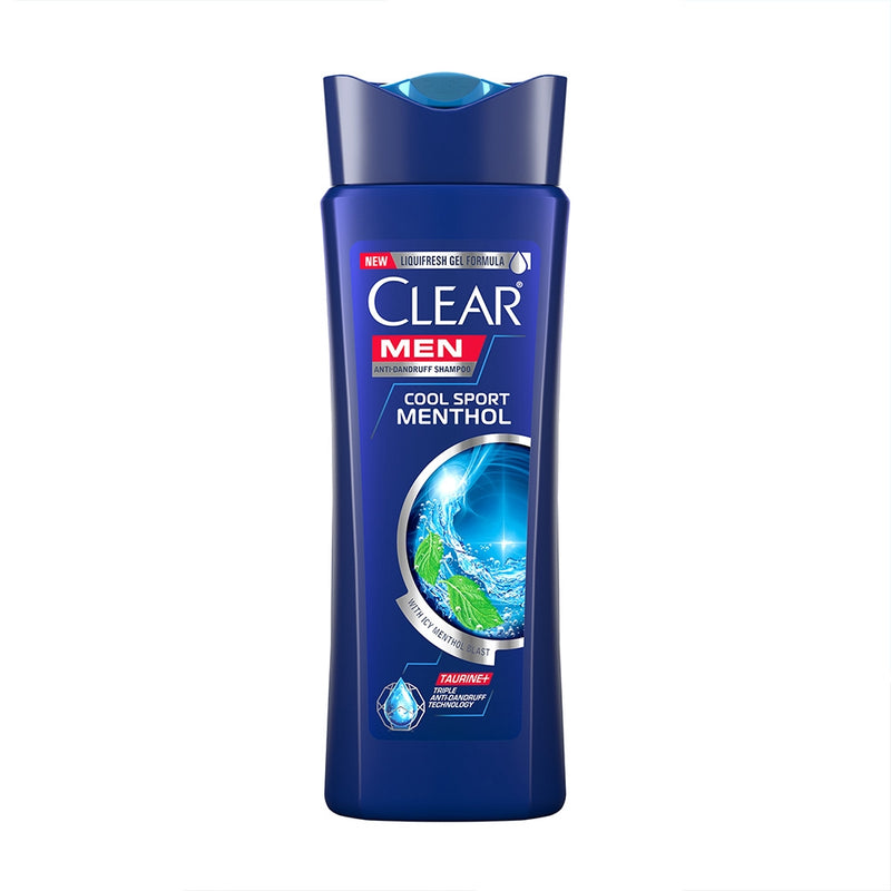 CLEAR SH COOL SPORT MENTHOL MEN 200ML/180ML