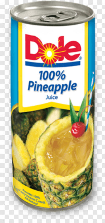 DOLE P/A 100% JUICE 190ML
