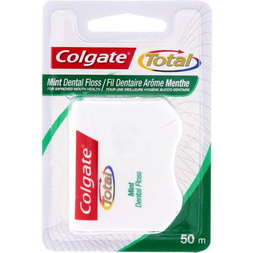 COLGATE TOTAL MINT DENTAL FLOSS 50ML