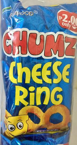 CHUMZ CHEESE RINGS 12GX10'S