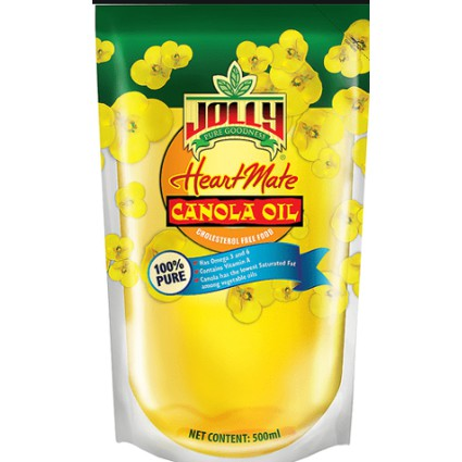 JOLLY CANOLA OIL 100% 2L
