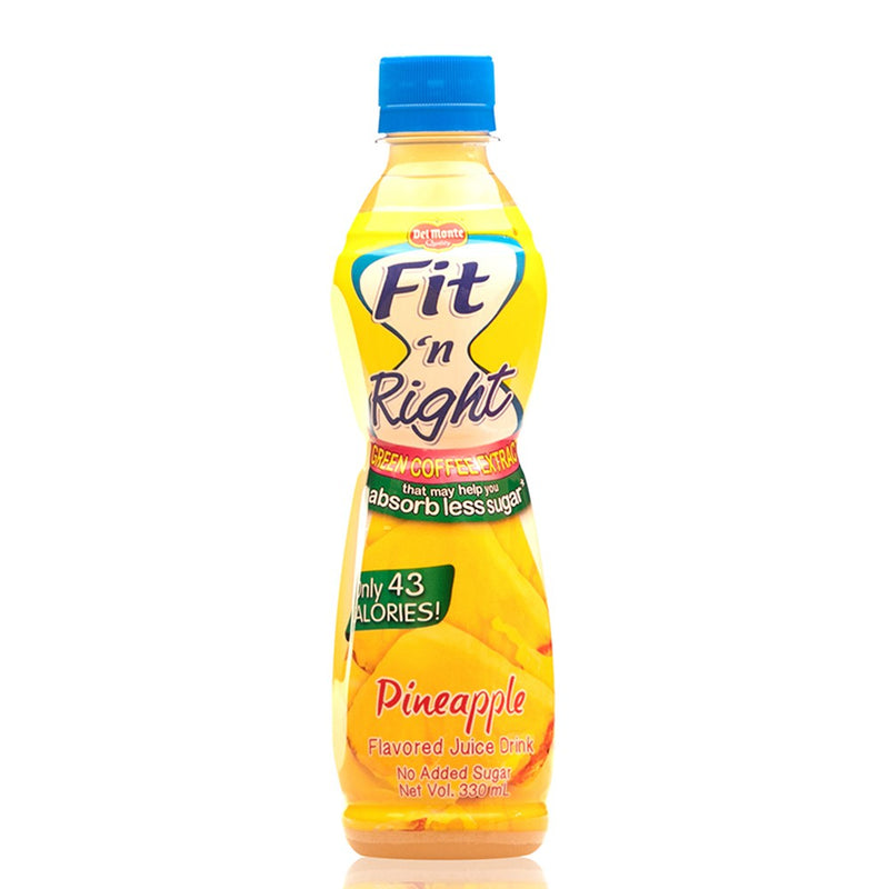 DM FIT N' RIGHT PINEAPPLE 330ML PET