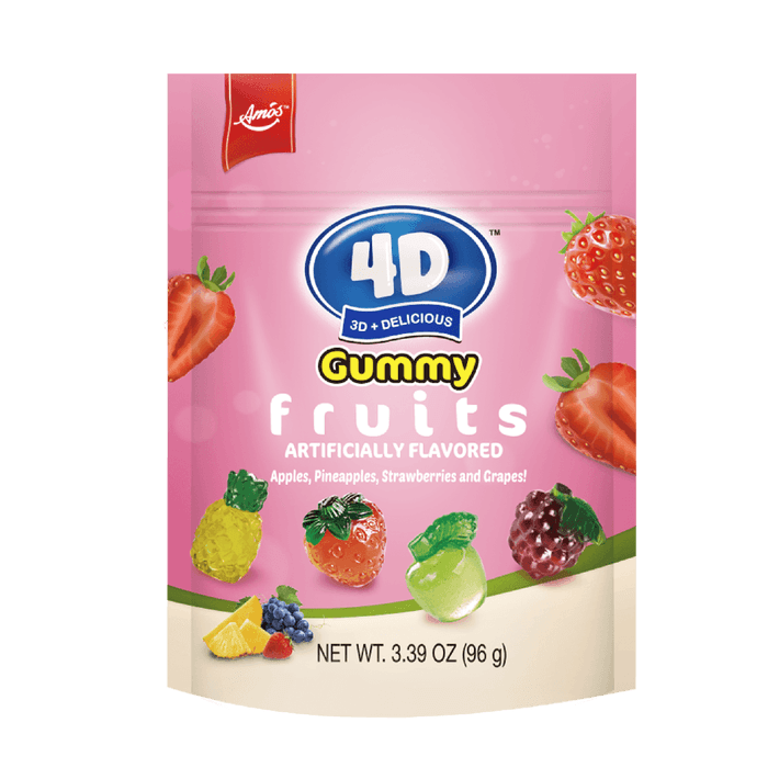 4D GUMMY FRUITS 96G