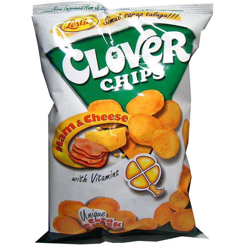 CLOVER CHIPS HAM & CHEESE 85G