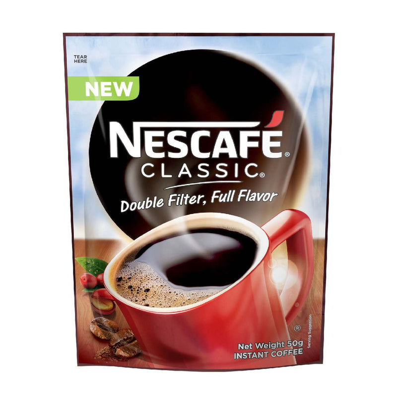 NESCAFE CLASSIC RESEALABLE 50G