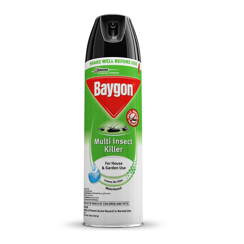 BAYGON MULTI INSECT KILLER WB 500ML