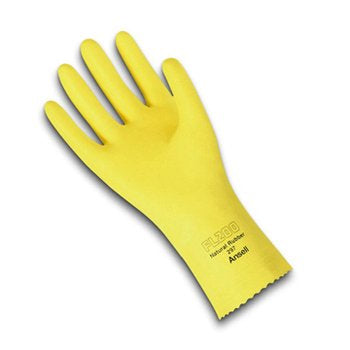 ANSELL EXCEL GLOVES LARGE (YELLOW)