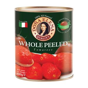 DONA ELENA WHOLE PEELED TOMATOES 800G