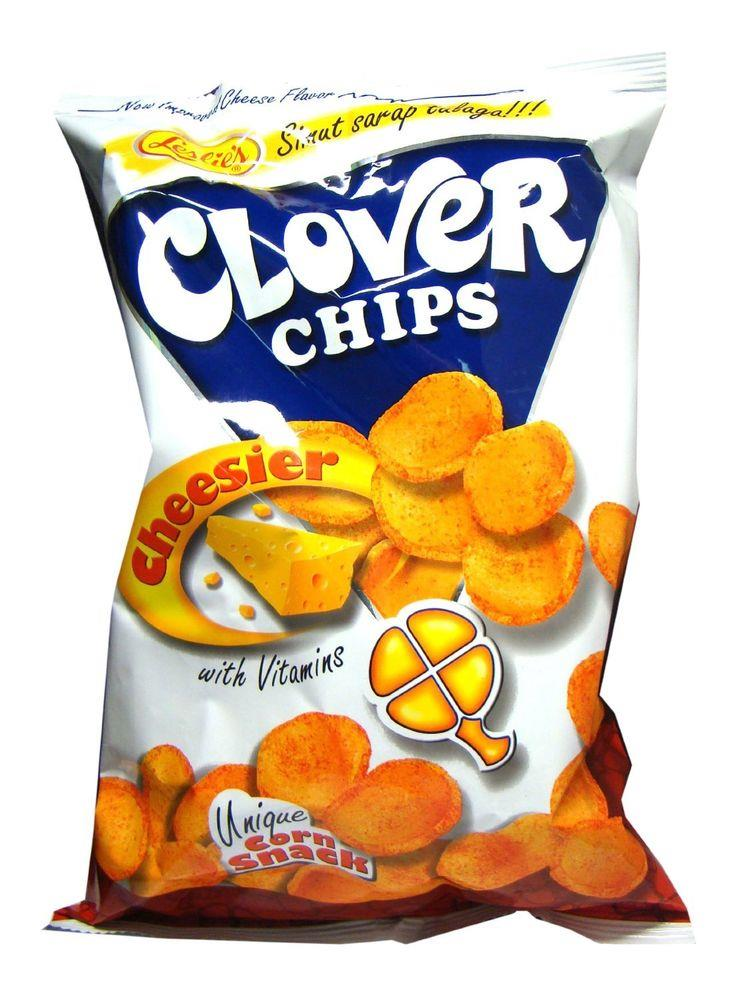 CLOVER CHIPS CHEESE 155G