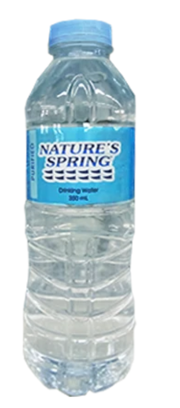 NATURES SPRING DISTILLED 350ML