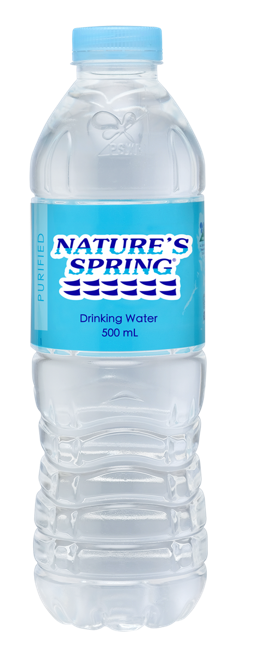 NATURES SPRING DISTILLED 500ML