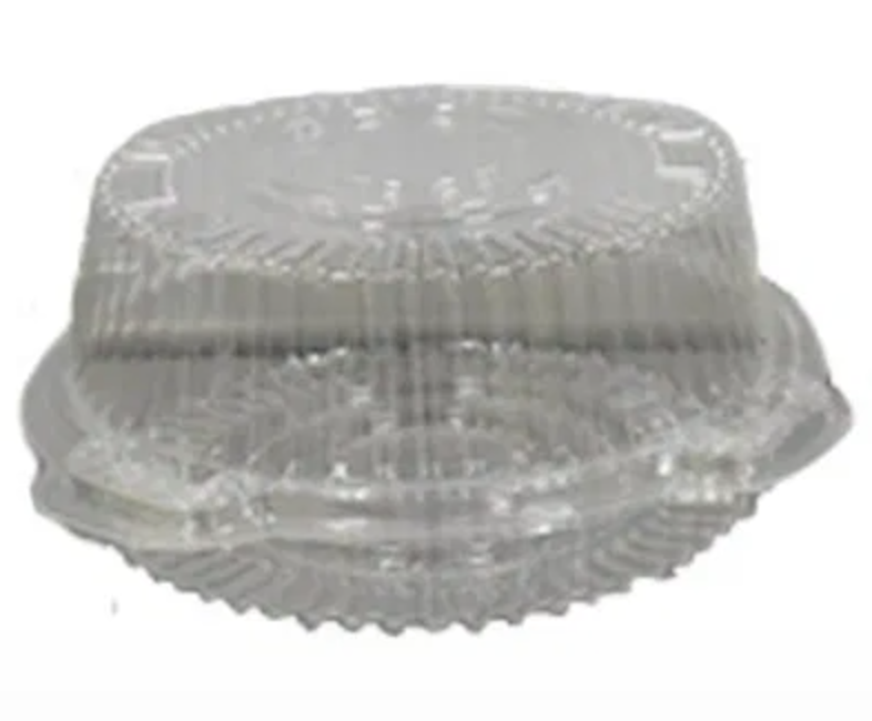 CLEAR PACK ROUND CAKE SMALL CCIV6 1X800 8X100S