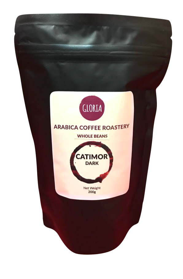 Catimor Dark Roast, Whole Bean 200g