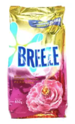 BREEZE PWD ROSE GOLD PERFUME 650G