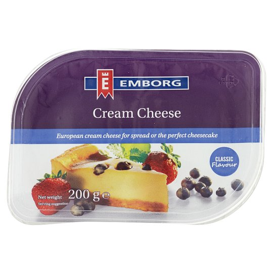 EMBORG CREAM CHEESE CLASSIC 200G
