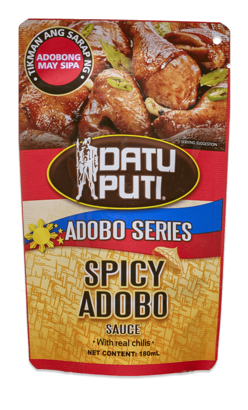 DATU PUTI AS SPICY ADOBO 180ML