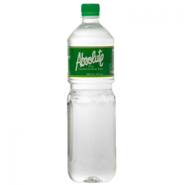ABSOLUTE DISTILLED WATER 1000ML