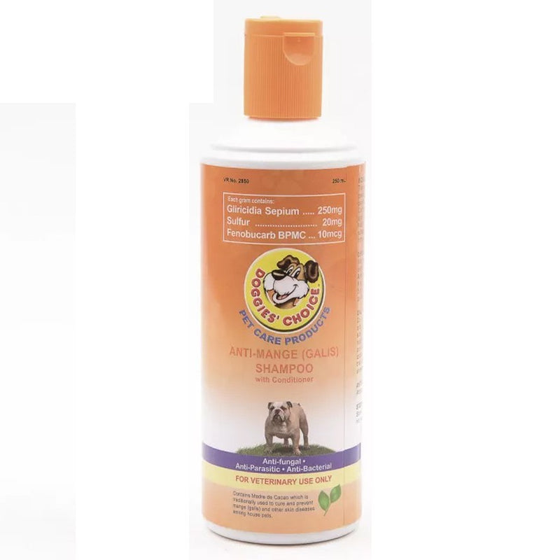 DOGGIES CHOICE ANTI MANGE SHAMPOO250G