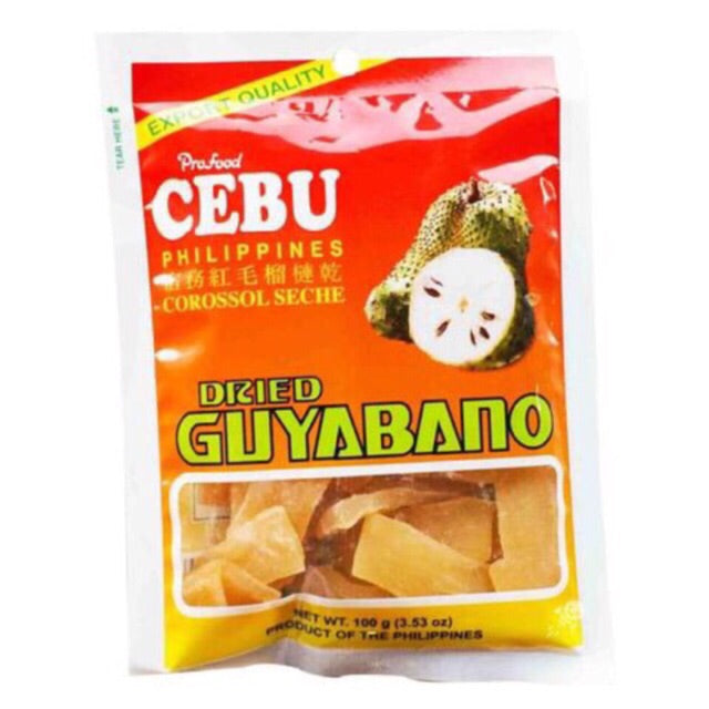 CEBU DRIED GUYABANO 100G