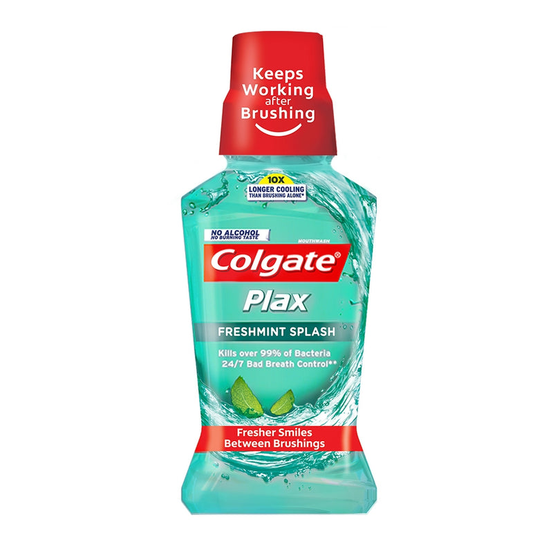 COLGATE PLAX FRESH MINT 250ML GREEN
