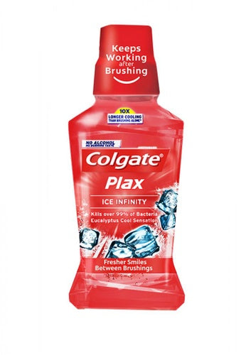 COLGATE PLAX ICE INFINITY 250ML (RED)