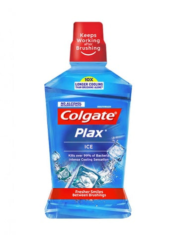 COLGATE PLAX ICE (LIGHT BLUE SILVER) 500ML