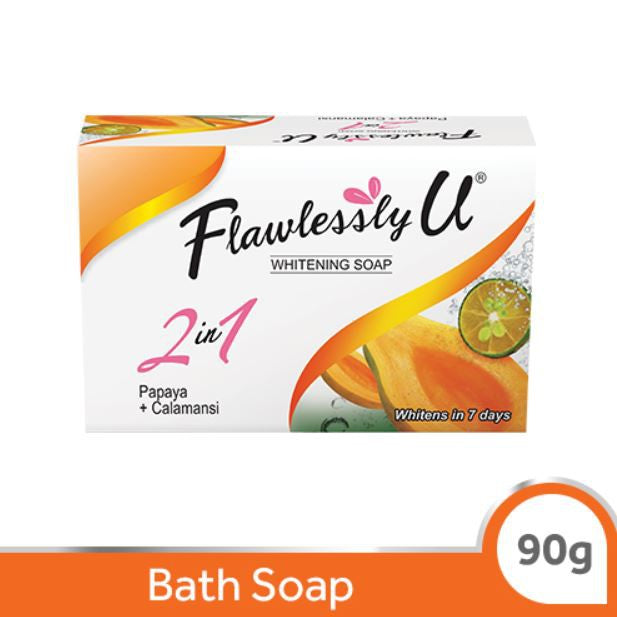 FLAWLESSLY U SOAP PAPAYA CALAM 90G