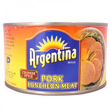 ARGENTINA CHINESE LUNCHEON MEAT 375G