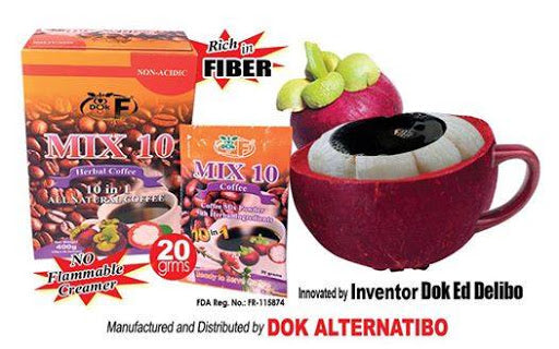 DOK ALTERNATIBO MIX10 COFFEE 20G 10'S