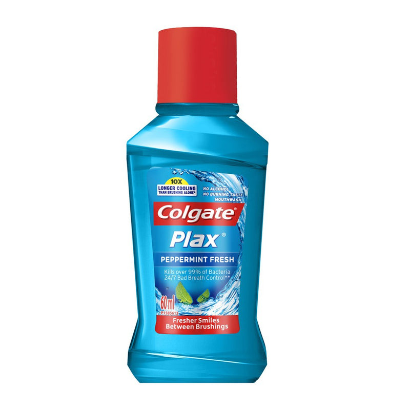 COLGATE PLAX PEPPERMINT L/BLUE 60ML
