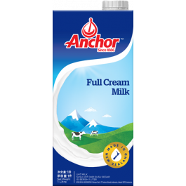 ANCHOR FULL CREAM MILK 1LITER