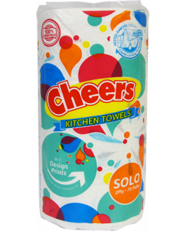 CHEERS KITCHEN TOWEL REG 70PX2PLY