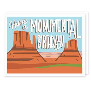 Monumental Birthday